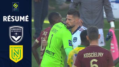 FC GIRONDINS DE BORDEAUX – FC NANTES (1-1) / Summary (GdB