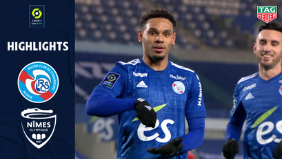 Rc Strasbourg Alsace Nimes Olympique 5 0 Highlights 2020 2021