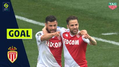 Goal Sofiane DIOP (19') / AS MONACO - NÎMES OLYMPIQUE (3-0)/ 2020/2021